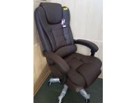 Кресло крутящееся, качающееся откидной спинкой