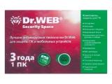 Антивирус  Dr.Web Anti-virus  1 пк / 3 года
